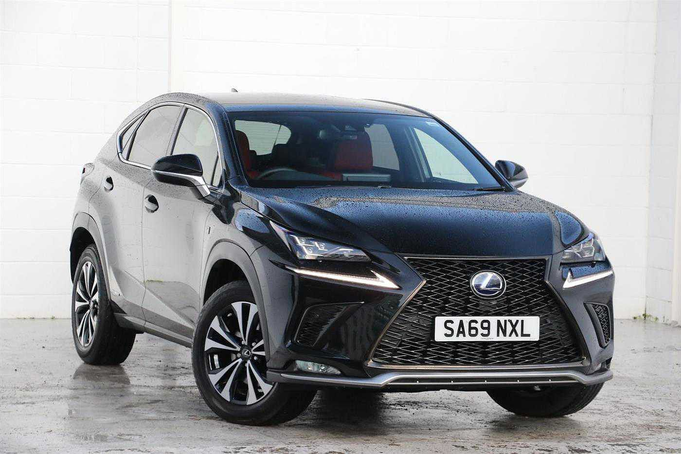 Used 2019 NX 300h 300h 2.5 F-Sport Premium Pack/leather Pan Roof