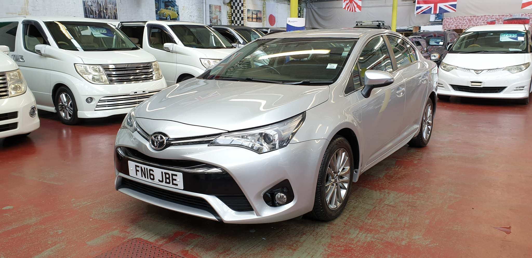 Toyota Avensis 1.6 D-4D Business Edition (s/s) 4dr