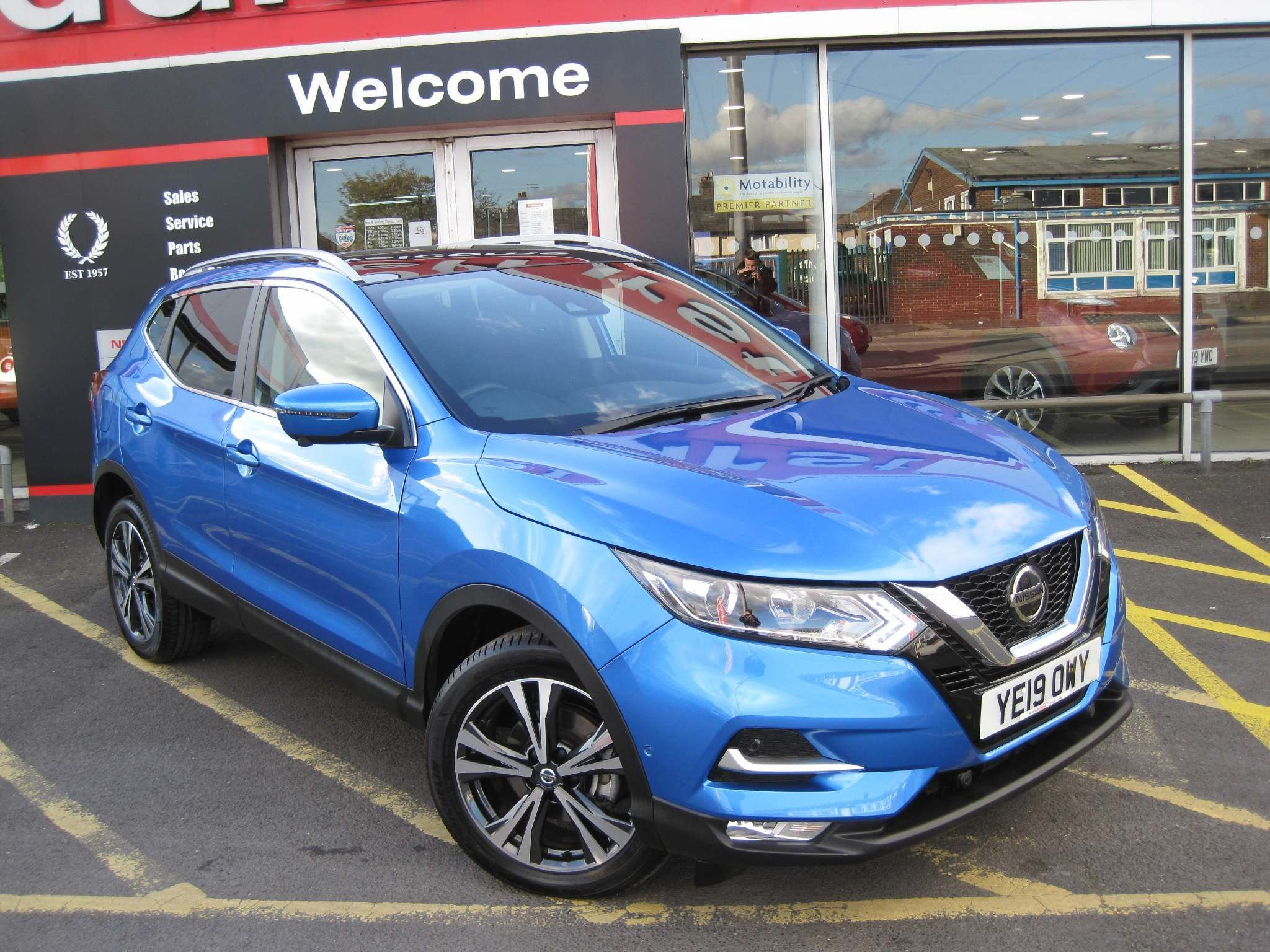 Nissan Qashqai 1.5 dCi N-Connecta (s/s) 5dr