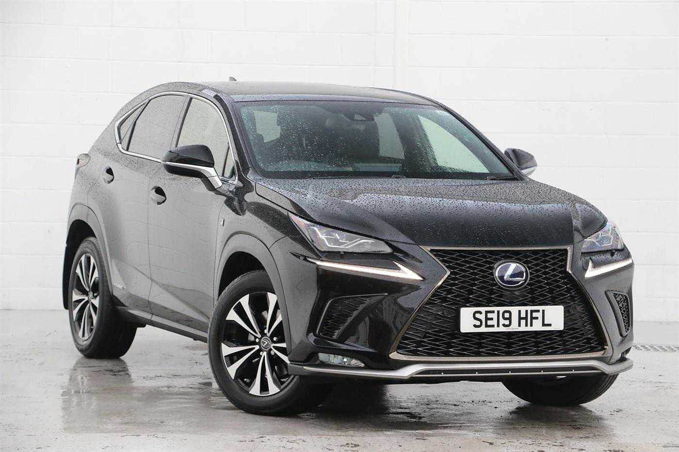 Used 2019 NX 300h 300h 2.5 F-Sport 5dr CVT [Premium Pack/leather]