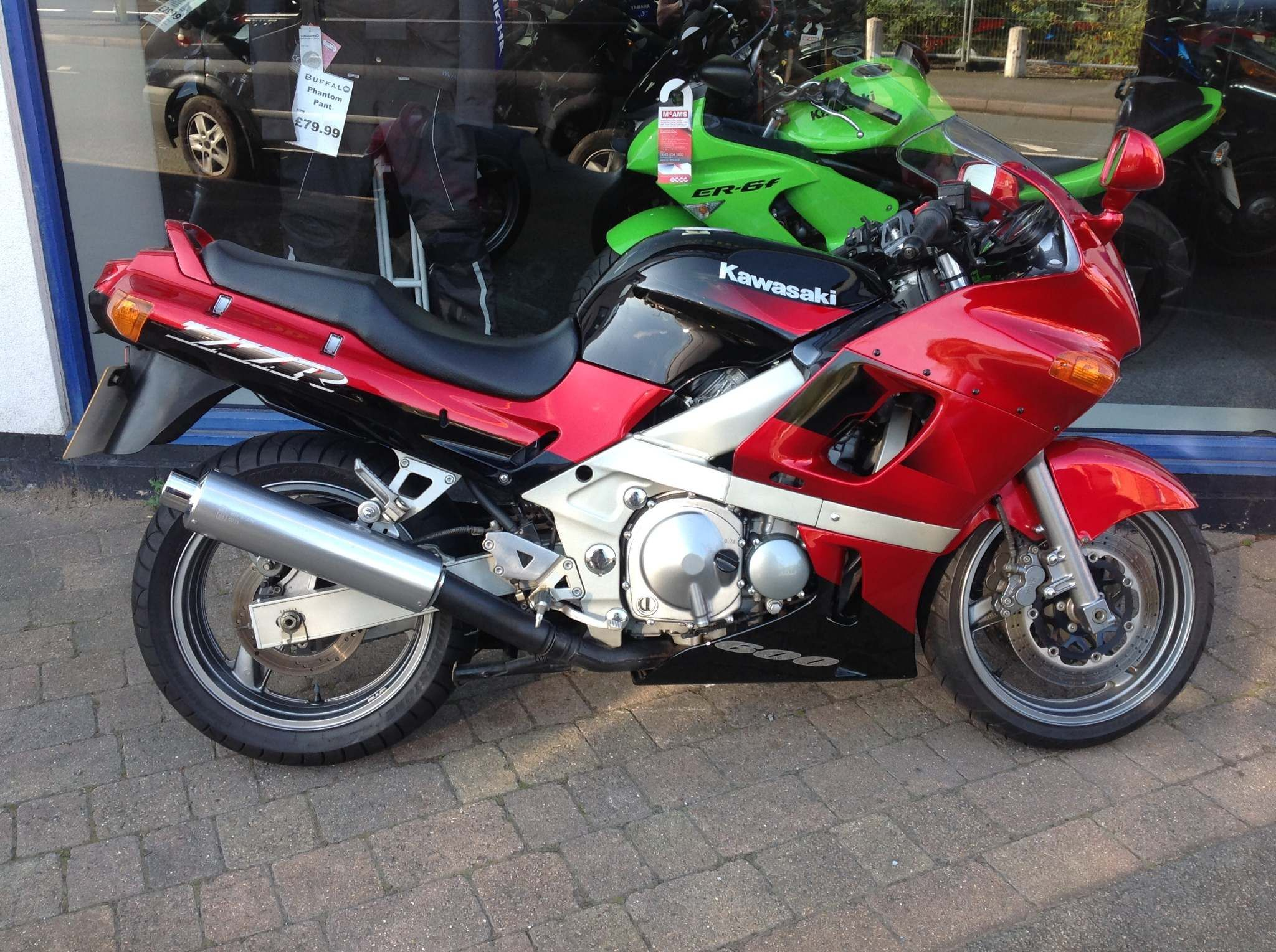 Kawasaki ZZR600 600 (ZZR) Petrol Manual (98 bhp) - The