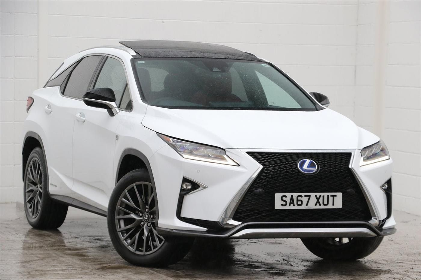 Used 2017 RX Unspecified 450h 3.5 F-Sport Pan Roof