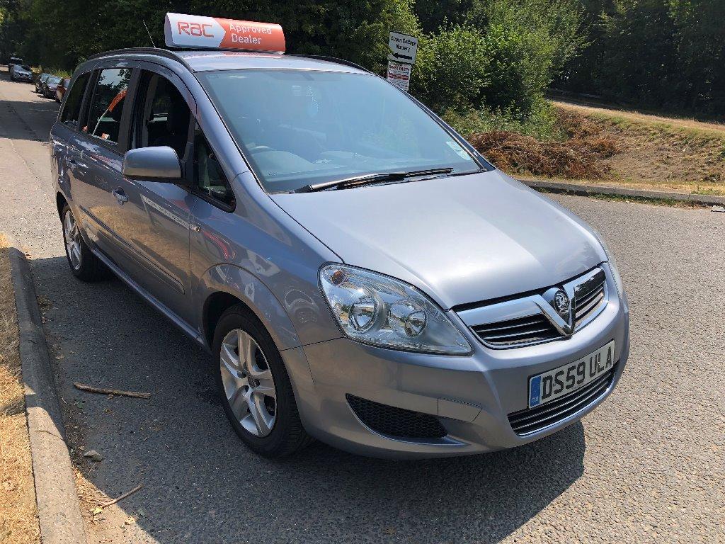 2010 Vauxhall Zafira 1.8 i 16v Exclusiv 5dr For Sale